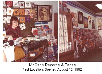 McCann Records And Tapes (1982)
